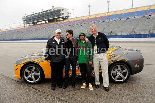 The Urbans and Cruises at Daytona 500