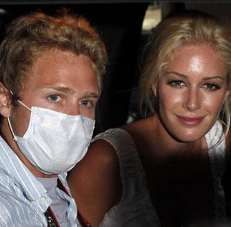 Photos of Celebrity Honeymoons