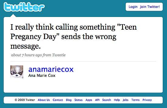 Tweet Nothings: Ana Marie Cox