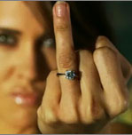 Freaky or Fabulous? Ms. Taken Faux Diamond Ring