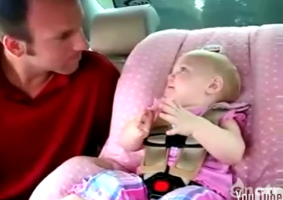 Cute Alert: This Baby Has a Lot on Her Mind