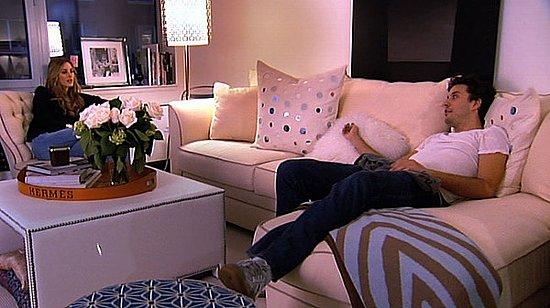 Found It! Olivia Palermo's Mirrored Pillows