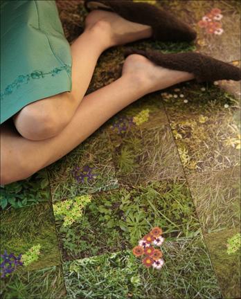 Cool Idea: Grass Tiles