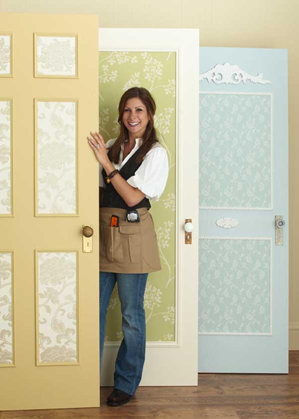Как своими руками обновить старую межкомнатную дверь фото