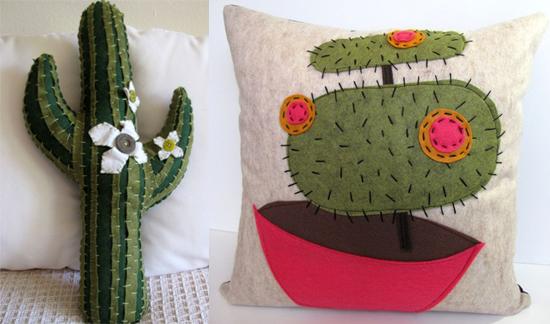Etsy Find: Love, California Cactus Pillows