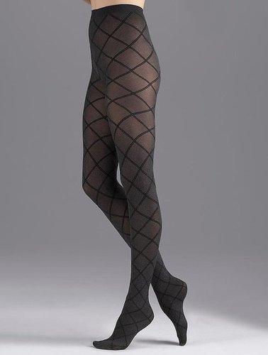Talbots Sale - Heathered criss-cross tights