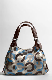COACH OP ART CHAIN-LINK MAGGIE BAG - View All - Nordstrom