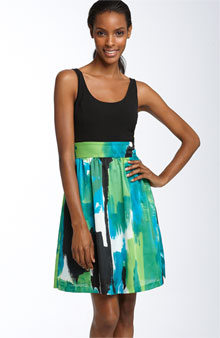 Ellen Tracy Mock Two Piece Dress - Under $150 - Nordstrom