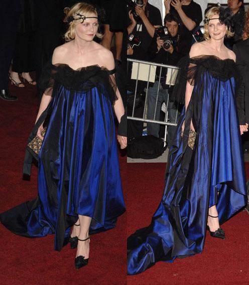 The Met's Costume Institute Gala: Kirsten Dunst