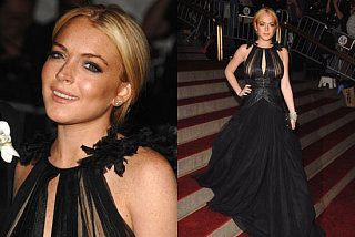 The Met's Costume Institute Gala: Lindsay Lohan