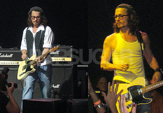 Johnny Depp Rocks Out For Charity