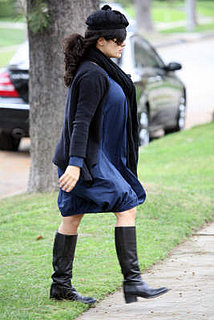 Pregnant Salma Feeling Blue