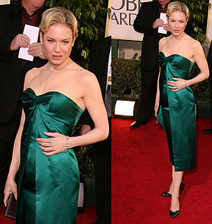 The Golden Globes Red Carpet: Renee Zellweger