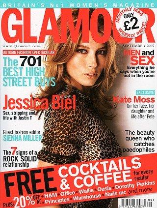 Glamour UK (Jessica Biel)