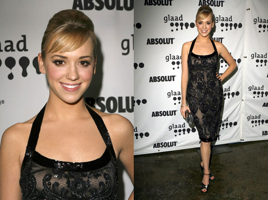 GLAAD Awards Red Carpet: Andrea Bowen
