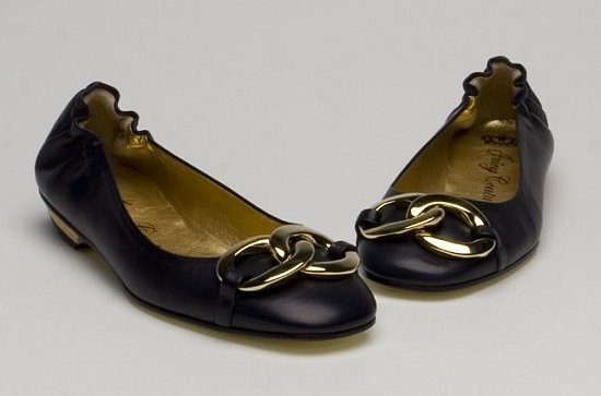 The Look For Less: Juicy Couture Edith Navy Flats