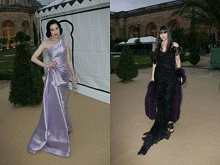 Battle of the Dior: Von Teese vs. Bellucci