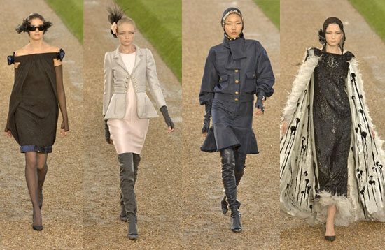 Fall 2007 Couture: Chanel