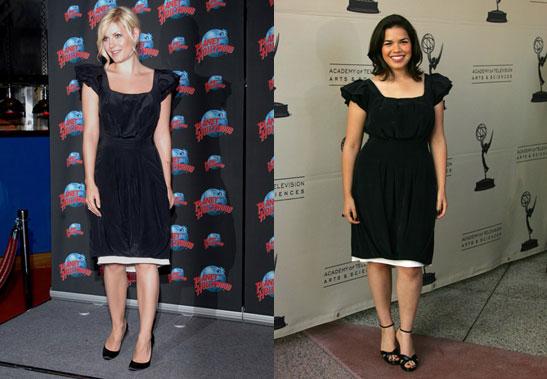 Who Wore It Better? Black Thakoon Dress