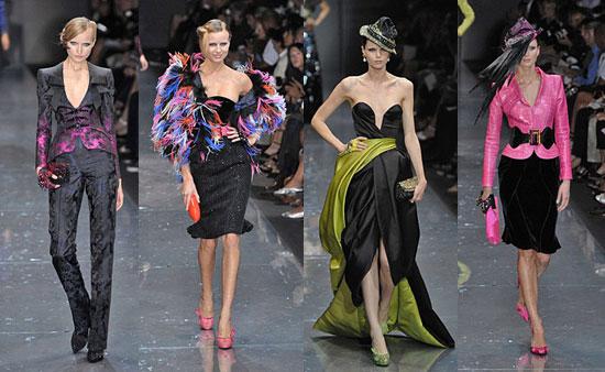 Fall 2007 Couture: Giorgio Armani Prive