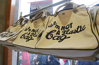 """Fab Flash: """"I'm Not a Plastic Bag"""" Banned in China"""