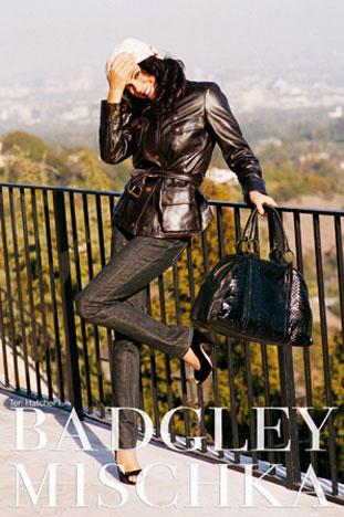 Fab Flash: Teri Hatcher Fronts Badgley Mischka Campaign