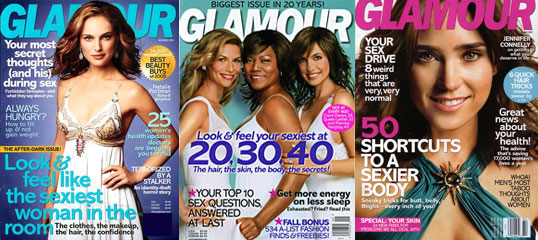 On Our Radar: Glamour Magazine is Tee'd Off
