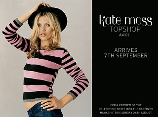 Kate Moss for Topshop Update!