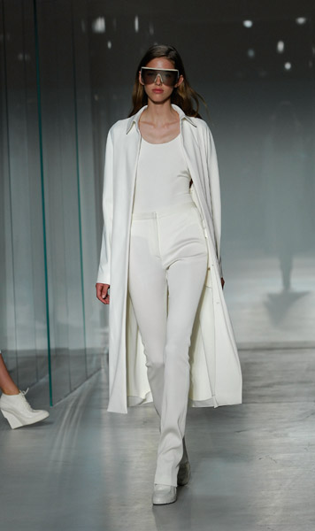 New York Fashion Week, Spring 2008: Calvin Klein