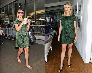 Who Wore It Better? French Connection Green Tie Dress