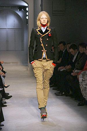The Look For Less: Balenciaga Piped Blazer