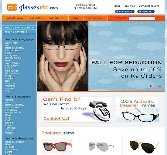 Fab Site: GlassesEtc.com
