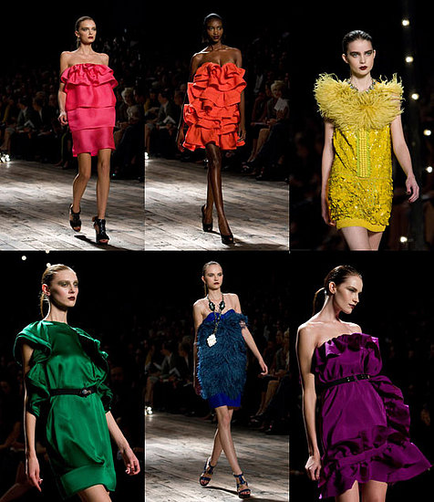 The Delicious Party Frocks of Lanvin