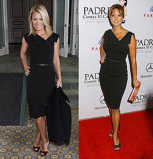 Who Wore It Better? Black Halo Jackie O Dress