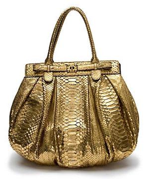 Zagliani Metallic Python Handbag: Love It or Hate It?