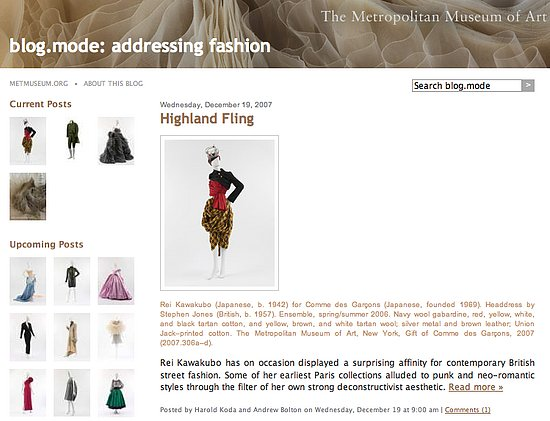 On Our Radar: Be a Blogger at the Met