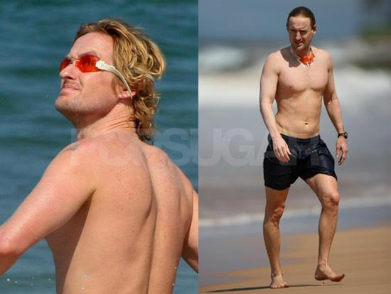 Owen Likes Long Walks on the Beach...
