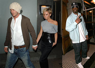 Even Diddy Star Struck by Beckhams