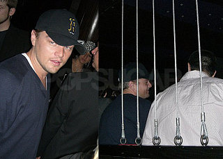 Leo Jets to Vegas, Visits Bar with Bar