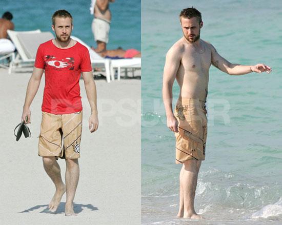 Ryan Gosling Loves the Beach, Inanimate Women