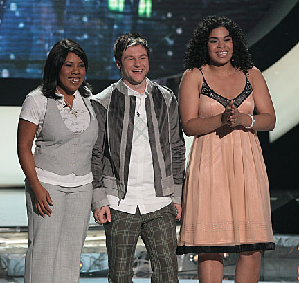 American Idol Season 6: Three To Go
