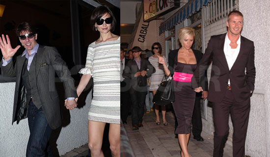The Cruise-Beckhams Hit The Town