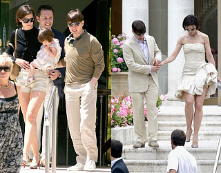 Tom and Katie Continue to Coordinate in Cannes