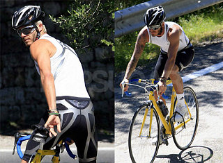 Serious Manjoyment: Beckham On A Bike