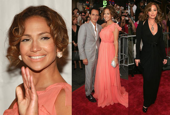 J Lo Is Pretty In Pink To Show Off El Cantante