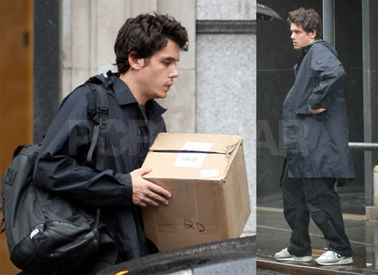 John & Cameron Heat Things Up in Rainy NYC