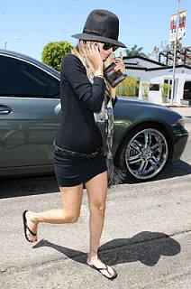 Nicole's LB Maternity Dress