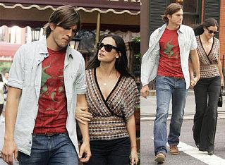 Demi Takes Heed Of Ashton's Fashion Advice