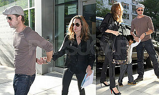 The Jolie-Pitts Still Getting Followed Around NYC