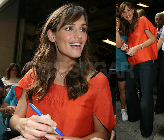 Jennifer Garner Has A Lot To Smile About